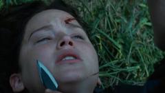 Katniss siendo atacada por Clove