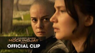"""The Hunger Games Mockingjay Part 2 Official Clip – """"Old Friends"""""""