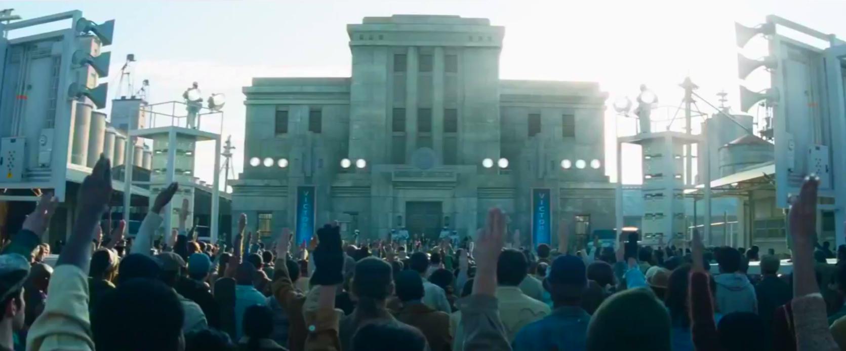 Signo De Respeto Del Distrito 12 Wiki The Hunger Games Fandom
