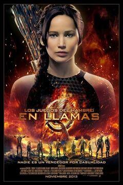 Poster latinoamericano de En Llamas