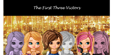 First Three Victors made by Blue