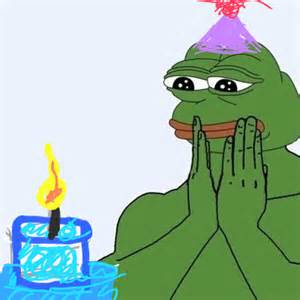 Pepe Wishes You A Happy Birthday