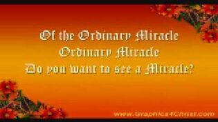 Ordinary Miracle - Sarah McLachlan - Lyrics-0