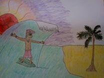 Kovu surfing