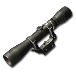 Scope bolt action rifle 4x42mm classic