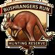 Bushrangers run icon