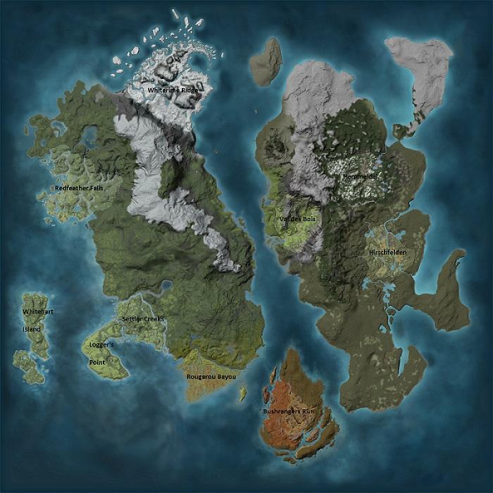 EHR map