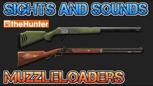 TheHunter Hunting Game - Sights and Sounds - MUZZLELOADERS