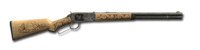 Lever action rifle 30-30 lone star 1024
