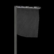 Marker flag black