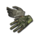 Basic gloves camo forest 256