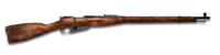 Bolt action rifle 762x54