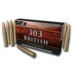 Cartridges 303 british 256