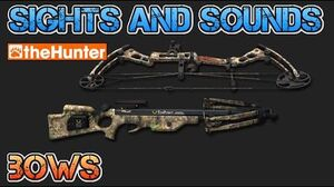TheHunter Hunting Game - Sights and Sounds - BOWS