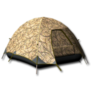 Large equipment tent arid camouflage 256