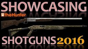 TheHunter Hunting Game - Showcasing Shotguns 2016 (Animations, Sights & Sounds)