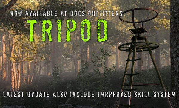 Tripod update