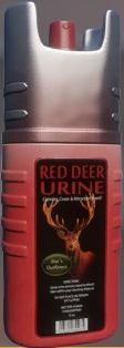 Red deer scent