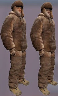 Arctic hunting outfit