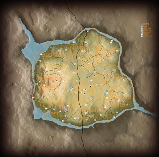 Vurhonga map