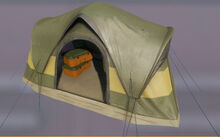 Tent green
