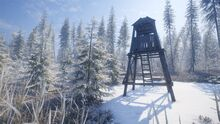 Medved hunting tower