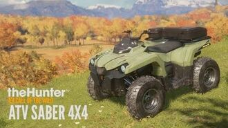 TheHunter- Call of the Wild - ATV SABER 4x4 Trailer