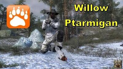 Hunting Willow Ptarmigan theHunter 2016
