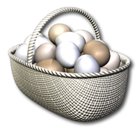 Easter basket simple