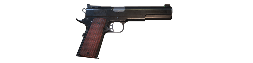10mm semi-auto pistol