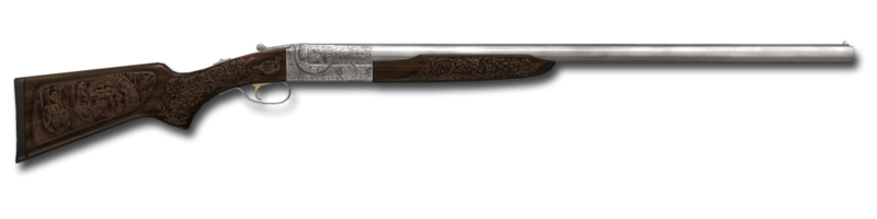 Shotgun sxs engraved 12ga 1024