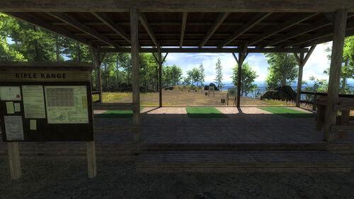 Logger's stand de tir rifle