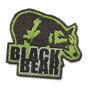 Black bear badge