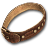 Dog collar exclusive leather