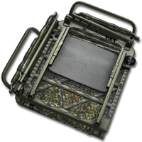 Large equipment dual treestand forest camo