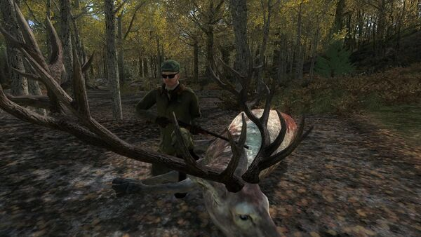 Onkel666 275 piebald red deer