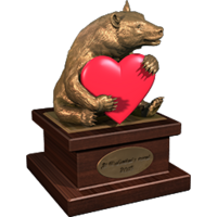 Valentine 2015 BlackBear Trophy Bronze