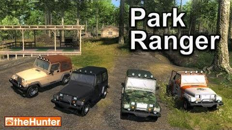 PARK RANGER JEEP - theHunter Hunting Game