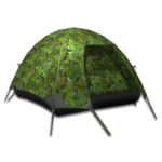 Large equipment tent tropical camouflage