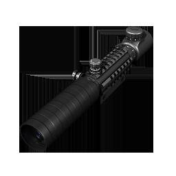 Reverse draw crossbow scope