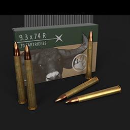 Cartridges 9.3x74r