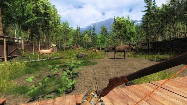 Darkwood Lodge tir sur cibles 3D