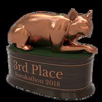 Sneakathon 2018 bronze