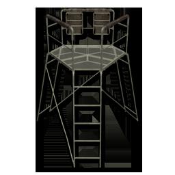 Large equipment dual tripod