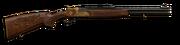 30r break action rifle engraved