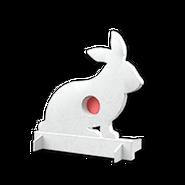 Deployable target rabbit