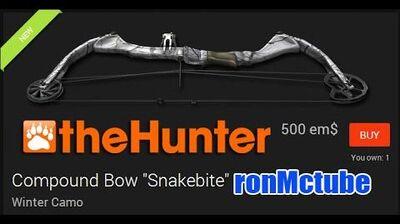 TheHunter Snakebite Winter camo bow