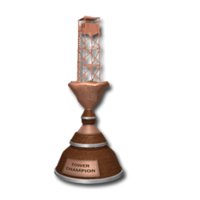 Trophy tower bronze