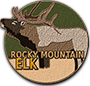 Rocky mountain elk badge