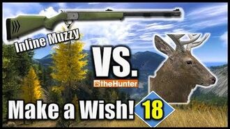 Inline Muzzleloader vs. Rocky Mountain Elk (Make a Wish 18) - theHunter Hunting Game